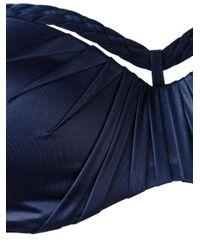 Marlies Dekkers - Blue Holi Glamour Plunge Balcony Bikini Top - Lyst