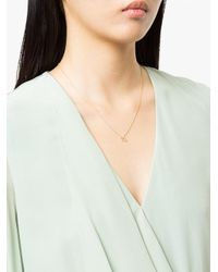 Sydney Evan - Metallic Diamond Virgo Necklace - Lyst