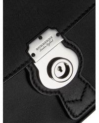 Burberry - Black Small Dk88 Top Handle Bag - Lyst