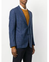 Corneliani - Blue Classic Blazer for Men - Lyst