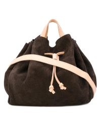 Marsèll Brown Drawstring Tote