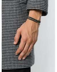 M. Cohen - Green Beaded Bracelet for Men - Lyst