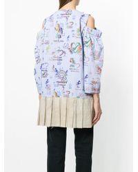 Vivienne Westwood Anglomania - Blue Altitude Mini Dress - Lyst