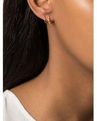 Maria Black - Metallic 'klaxon Twirl' Earrings - Lyst