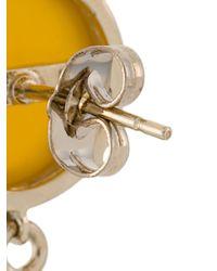 Iosselliani - Multicolor Burma Fringe Earrings - Lyst