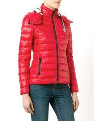 Rossignol - Red W Caroline Quilted Jacket - Lyst