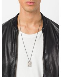 Northskull - Metallic In Out Pendant Necklace for Men - Lyst