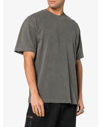 Yeezy - Gray T-Shirt mit rundem Ausschnitt for Men - Lyst
