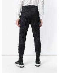 Issey Miyake - Black Pantalones joggers for Men - Lyst