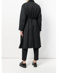 Jil Sander - Black Oversized Coat for Men - Lyst