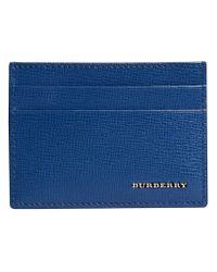 Burberry - Blue London Card Case for Men - Lyst