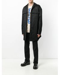 Raf Simons - Blue Oversized Shirt Jacket for Men - Lyst