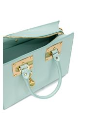 Sophie Hulme - Blue Mini Whistle Crossbody Bag - Lyst