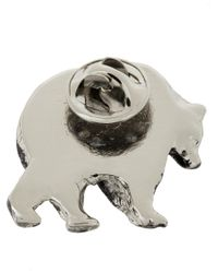 DSquared² | Metallic Animal Pin Brooches | Lyst