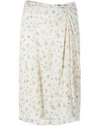Isabel Marant | Natural Twen Skirt | Lyst