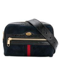 Gucci - Blue Ophidia Small Belt Bag - Lyst