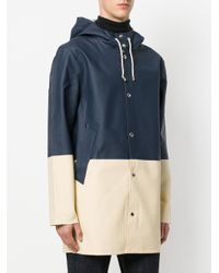 Stutterheim - Blue Stockholm Coat for Men - Lyst