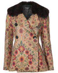 Derek Lam - Green Embroidered Tailored Coat - Lyst