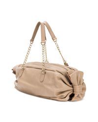 RED Valentino - Brown Bow Detailed Tote - Lyst