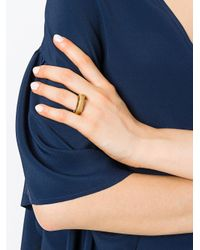 Aurelie Bidermann - Metallic Alhambra Ring - Lyst