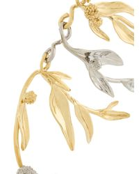 Aurelie Bidermann - Metallic Mimosa Statement Earrings - Lyst