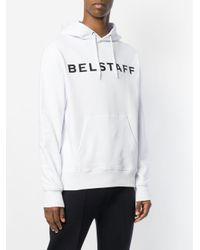 Belstaff - White X Sophnet Marlfield Hoodie for Men - Lyst