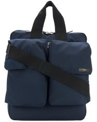 Givenchy - Blue Double Pocket Tote Bag for Men - Lyst