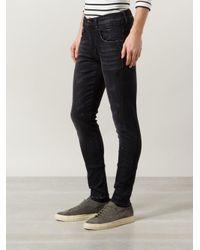 R13 - Black Skinny Jeans for Men - Lyst
