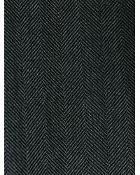 Prada - Gray Straight Leg Trousers for Men - Lyst