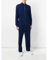 Billionaire - Blue Front Zip Jacket for Men - Lyst