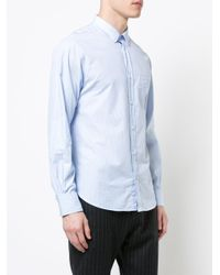 Officine Generale - Blue Benoit Shirt for Men - Lyst