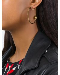 Maria Black - Metallic 'orion' Maxi Hoop Earring - Lyst