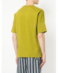 Cerruti 1881 - Green Boxy Sweatshirt T-shirt for Men - Lyst