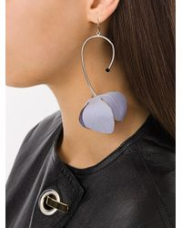 Marni - Multicolor Floral Drop Earrings - Lyst