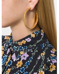 Gas Bijoux - Metallic Milo Large Hoop Earrings - Lyst
