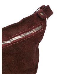 Guidi - Red Zipped Crossbody Bag - Lyst
