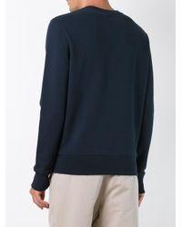 AMI - Blue Ami De Coeur Sweatshirt for Men - Lyst