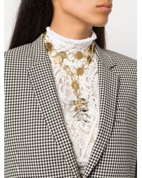 Chloé - Metallic Terry Coin Necklace - Lyst