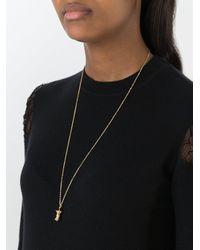 Aurelie Bidermann - Multicolor 'big Apple' Diamond Pendant - Lyst
