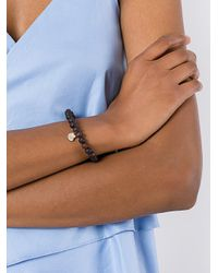 Rosa Maria - Brown Twisted Heart Bracelet - Lyst