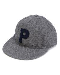 Polo Ralph Lauren | Gray P Cap for Men | Lyst