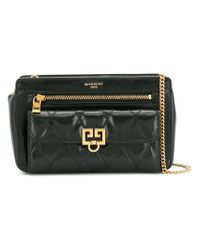 Givenchy - Black Pocket Crossbody Bag - Lyst