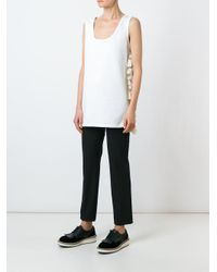N°21 - Multicolor No21 Tassel Trim Tank - Lyst