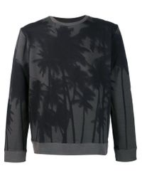 Aztech Mountain - Green 'palm Daze' Sweatshirt for Men - Lyst