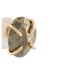 Melissa Joy Manning | Multicolor Freeform Pyrite Post Earrings | Lyst