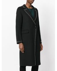 P.A.R.O.S.H. | Black Lover Coat | Lyst