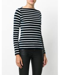 Faith Connexion - Blue Striped Sweatshirt - Lyst
