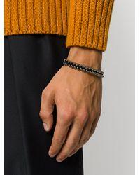 M. Cohen - Gray Skull Bracelet for Men - Lyst