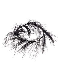 Ann Demeulemeester - Black Feather Embellished Crown - Lyst