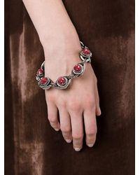 Eshvi - Red Hematite Bracelet - Lyst